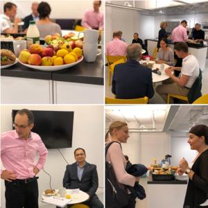 Breakfast session organized by Karolinska institute