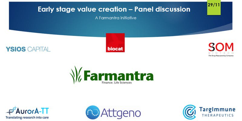 Panel discussion on Early stage value creation